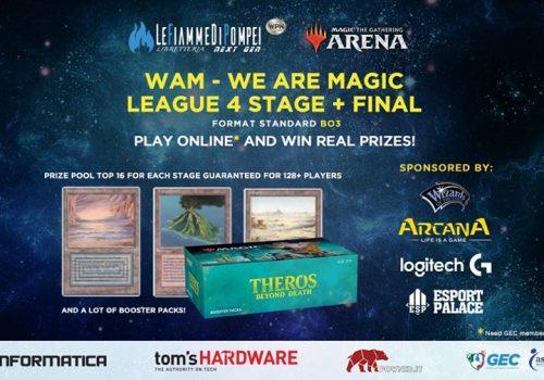 Via alla WaM, la serie di tornei su Magic Arena