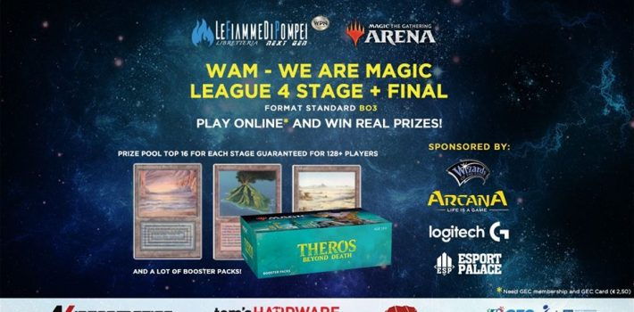 Via alla WaM, la serie di tornei su Magic Arena